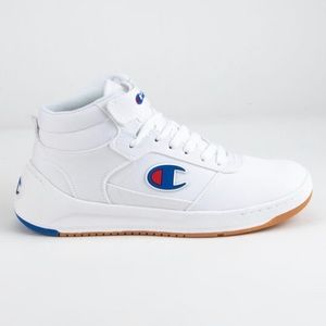 Champion Super C Mid Court Sneaker, high top like.